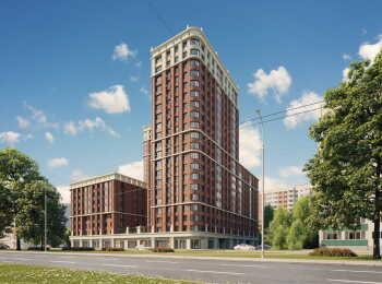 Высота домов 8-23 этажа в ЖК Main House